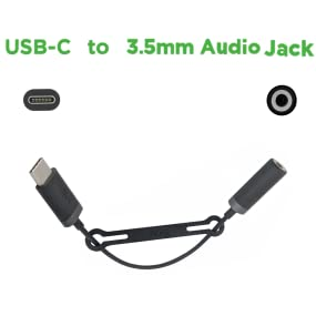 OEM SKN6474A Motorola USB-C to 3.5mm audio jack adapter