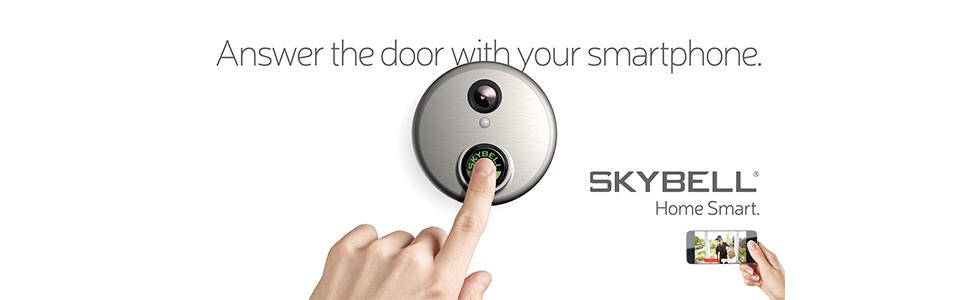 skybell; smart home; video doorbell