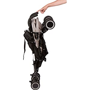 travis stroller folded