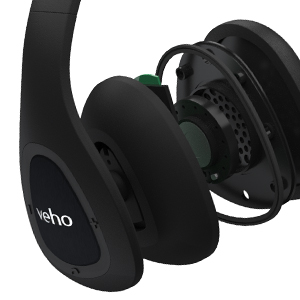 Veho ZB-6 On-Ear Bluetooth Headphones