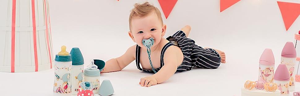 Suavinex - Pack de 2 Chupetes 6-18 meses.: Amazon.es: Bebé