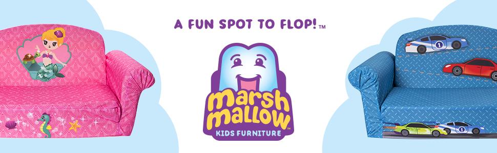 Marshmallow Flip-Open Sofa