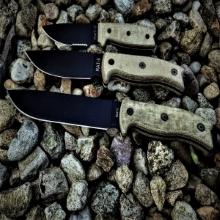 ontario knife company okc fixed blade military knives rat 3 rat 5 rat 7