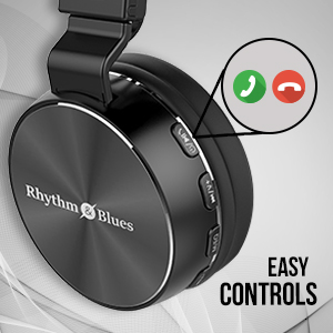 Rhythm&Blues A450BT On Ear Wireless Headphones (Black)