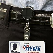 retractable badge holders, retractable badge reels, retractable badge clip