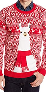 llama blizzard bay ugly holiday christmas sweater