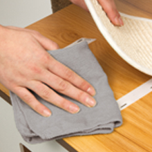 Cleaning MDF surfaces