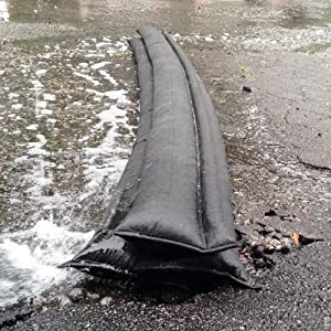 quick dam, flood barrier, flood bag, sand bag