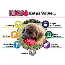 Pet Supplies : Pet Squeak Toys : KONG Off/On Squeaker