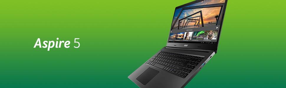"""Acer Aspire 5 A515-52-51KS Notebook con Processore Intel Core i5-8265U, RAM da 8 GB DDR4, 256GB SSD, Display da 15.6"""" FHD LED LCD, Scheda Grafica Intel UHD 620, Windows 10 Home, Silver"""