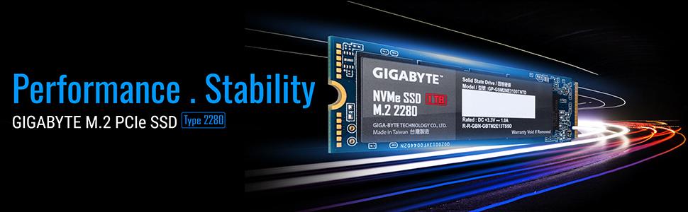 GIGABYTE AORUS M.2 NVME SSDS SOLID STATE DRIVE SSD M.2 2280 SATA 1 TB GB 512 256 128