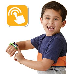 Vtech Kidizoom Smart Watch Dx2 Intelligente Uhr Für Kinder Mit Doppelkamera Grün Spielzeug