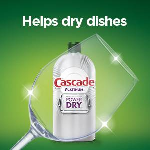 Helps dry dishes