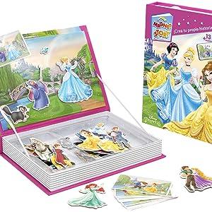 Falomir Magnet Story Disney Princess, Juego de Mesa, Infantil, Multicolor (1): Amazon.es: Juguetes y juegos