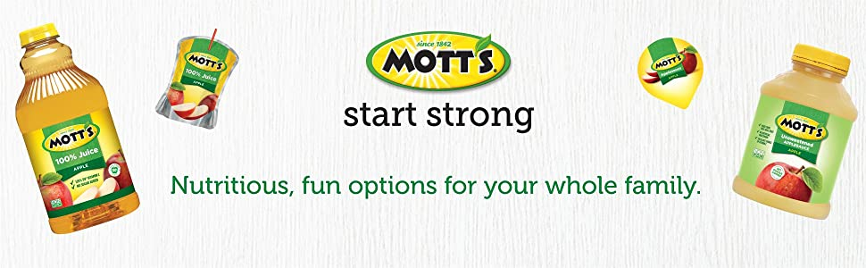 Mott's - Nurtitious, fun options for the whole family