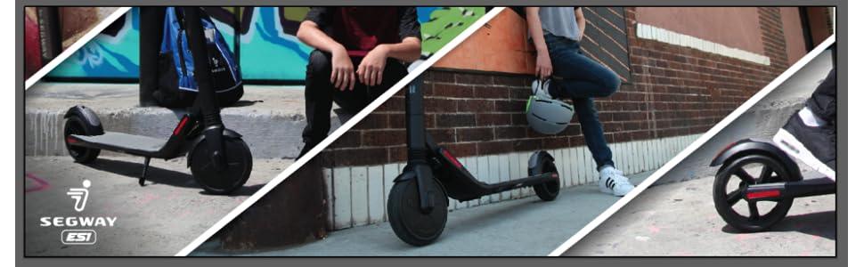 Amazon.com: Segway Ninebot ES1 Patinete eléctrico plegable ...