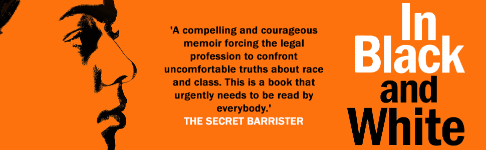 black barrister secret guilty crime justice class law order memoir gun knife bame poc