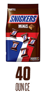 SNICKERS Minis Size Candy Bars – 40-Ounce Bag