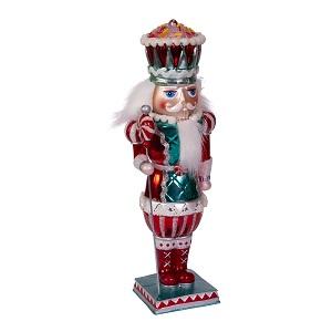 Kurt Adler Hollywood Penny Candy Machine Bubblegum Hat Christmas Nutcracker Red