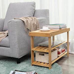 sofa side shelf