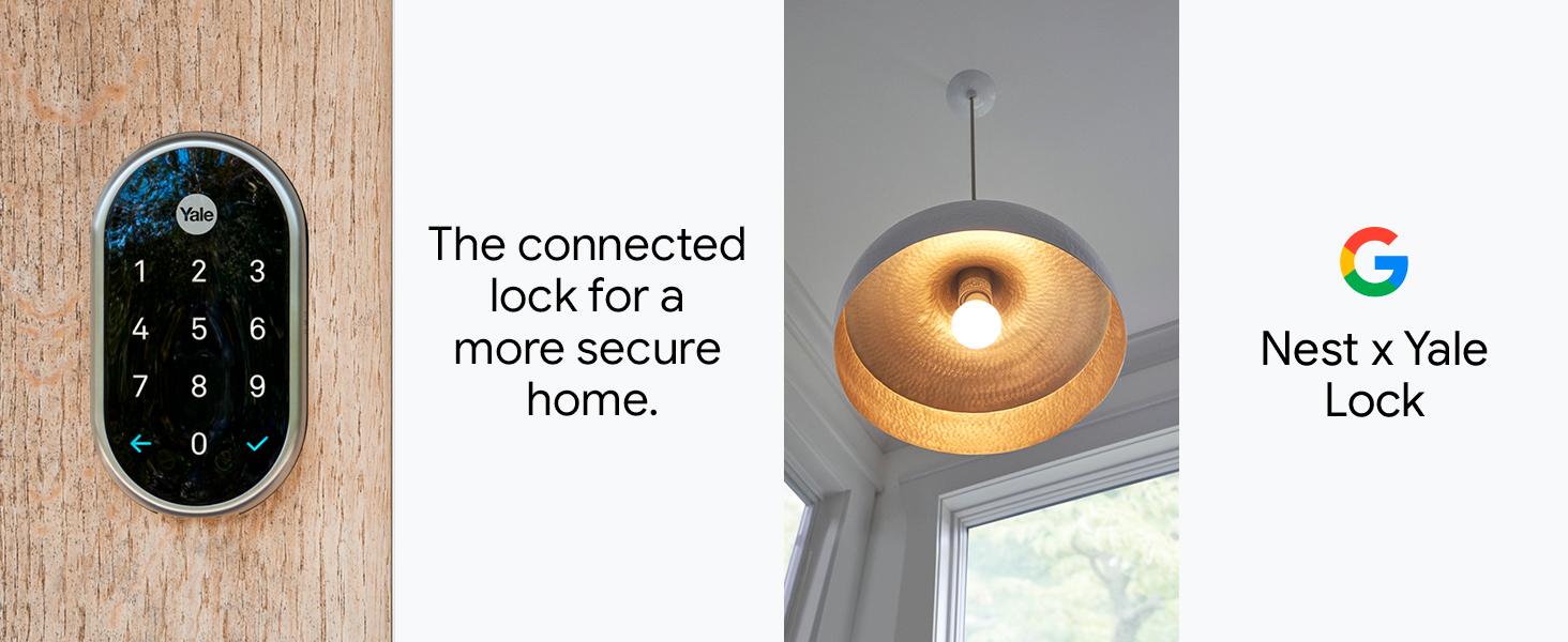 nest, google, nest lock