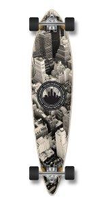 pintail flat longboard complete skateboard cruiser skate