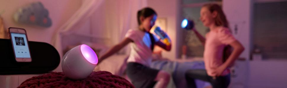 Philips Livingcolours Micro Soundlight Wall Wash And Table