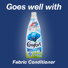 Omo Goes well with Comfort Sky Blue