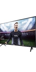 TCL 55DP660 Televisor 55 Pulgadas, Smart TV con Resolución 4K UHD, HDR10, Micro Dimming Pro, Android TV, Alexa, Google Assistant: Amazon.es: Electrónica