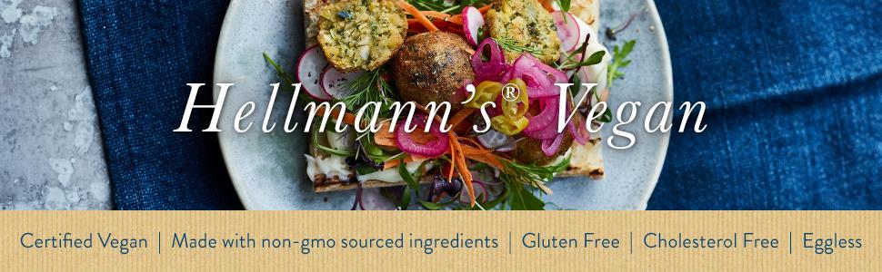 Hellmann's vegan mayo, vegan mayo, vegan mayonnaise, egg free mayonnaise, Hellmanns vegan mayonnaise