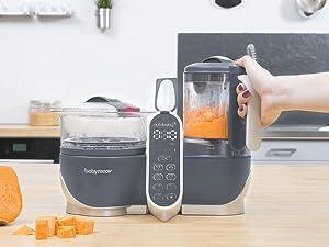 nutribaby ; robot culinaire bébé ; robot de cuisine bébé