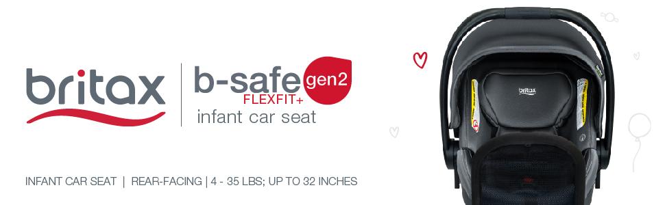 b safe gen2 flexfit plus cool n dry seat