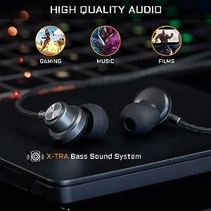 Excellente Qualité Audio + Basses renforcées