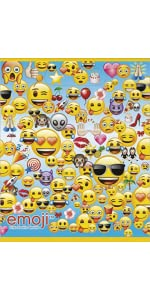 amazon com emoji party invitations 8ct toys games