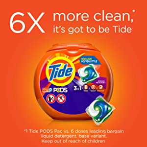 Tide PODS is a 3-in-1