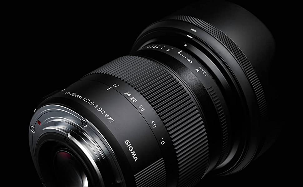 72MM UV Filter 72 mm Ultraviolet Filter /& 72 mm Lens Hood 72mm Tulip Lens Hood for Sigma 17-70mm F2.8-4 DC Macro OS HSM