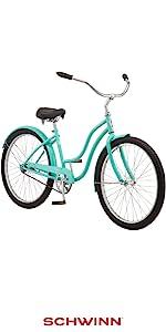 Schwinn, Bike, Bicycle, cruiser bikes, Family Bikes, beach cruiser, bikes for adults, casual bike