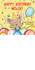 Happy Birthday, mouse, board book