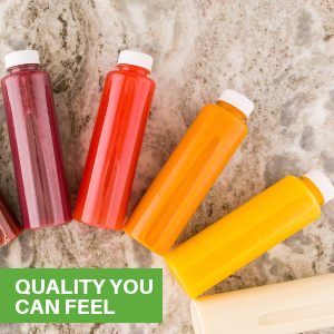 These bottles for juicing are available in a variety of sizes and shapes to fit your needs.