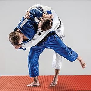 martial arts mma tatami ridged