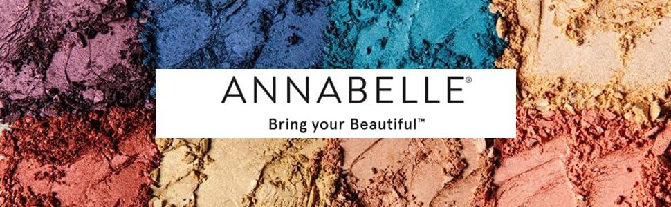 Annabelle cosmetics, high pigment makeup