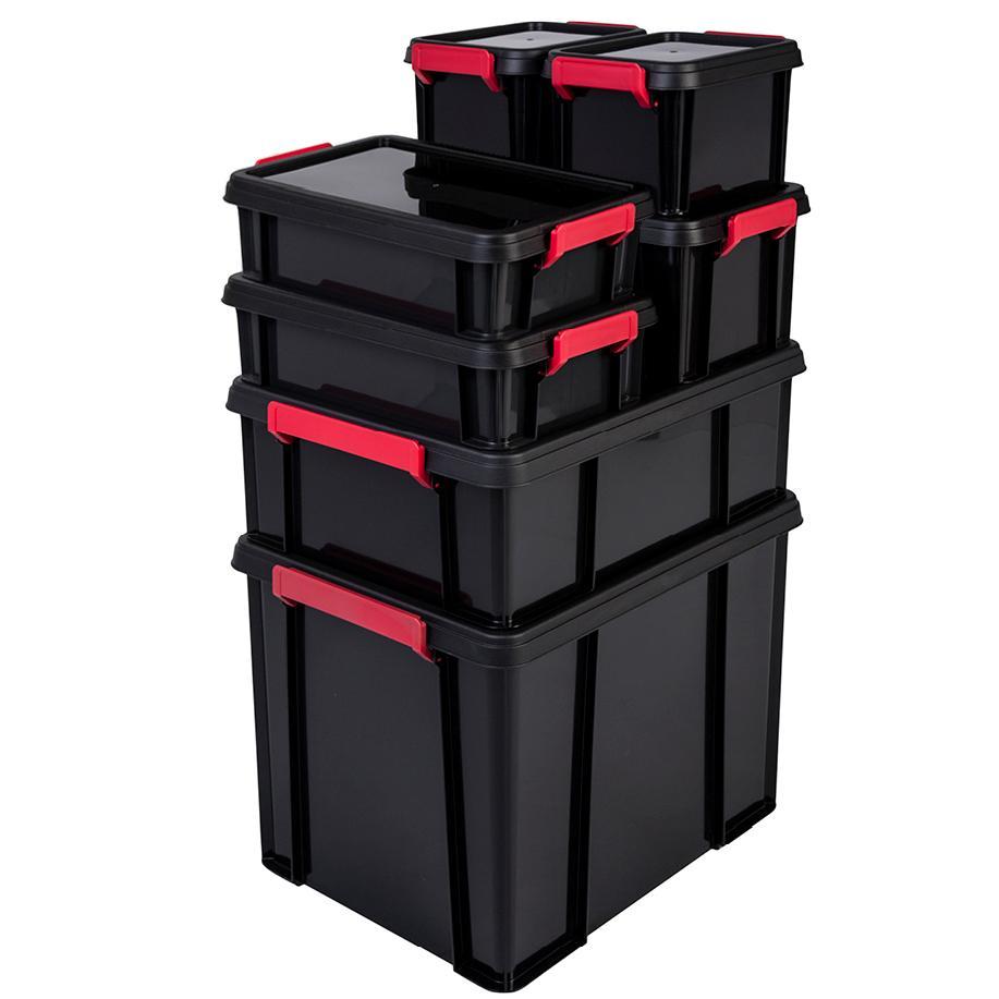 IRIS 135628, Aufbewahrungsbox / Kiste mit Deckel