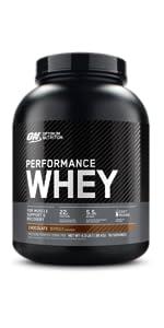 Performance whey protein powder, optimum nutrition whey protein power, advanced protein powder