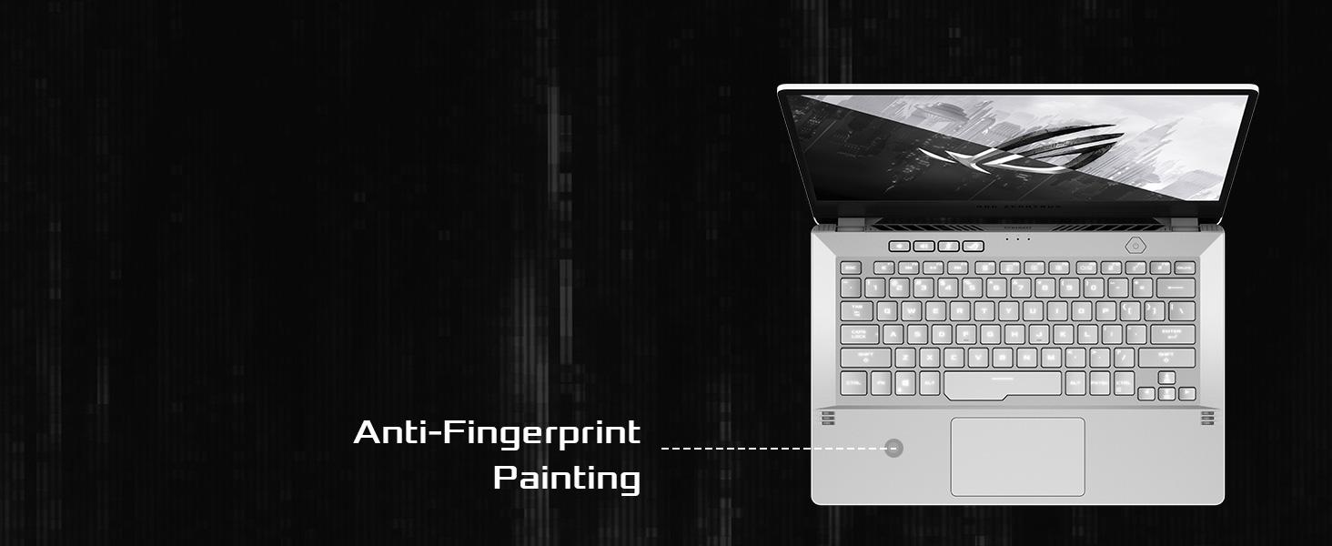 Anti-fingerprint Painting