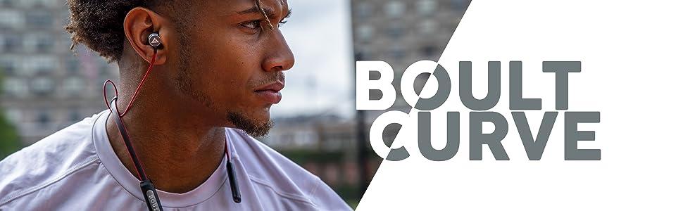 Boult Curve, Boult Audio, Flexi Band, Wireless Neckband, Earphones, Bluetooth Earphones