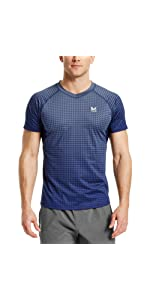 Mission Men's VaporActive Stratus Short Sleeve Running T-Shirt,Running Shirt,running shirts,running