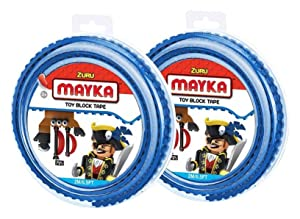 3.2 ft 8 colors to choose Lego Mega Bloks Builder 1 New MAYKA Toy Block Tape