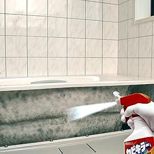 浴槽を覆っているエプロンがはずれるタイプのユニットバスなら、定期的に掃除をして、カビの温床となるのを防ぎましょう。