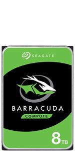 Seagate Barracuda, 3TB, Unidad de Disco Duro Interna, HDD, 3.5 ...