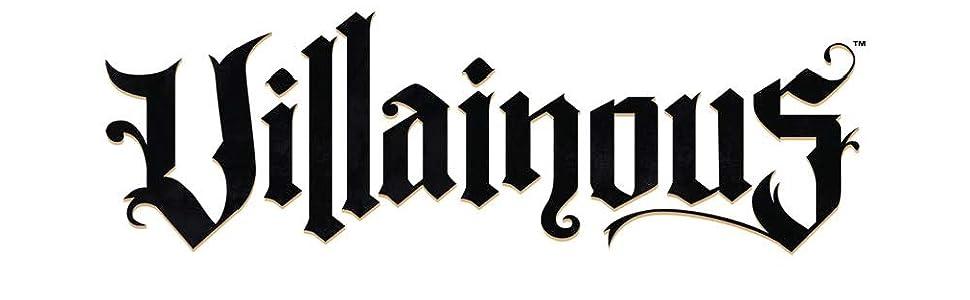 Villainous, Disney, logo